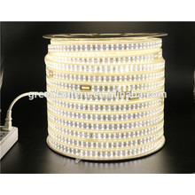 alto brillo 180 led / metro tira llevada flexible SMD 2835 220 tira llevada