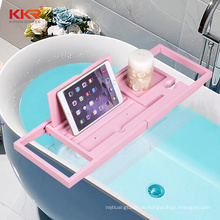 Bathtub Tray Perfect Expandable Bathtub Caddy for Reading Rack or Tablet Holder