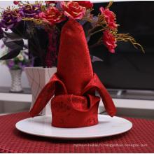 Serviette de table d'hôtel utilisée pour serviette de table en coton 50 * 50cm