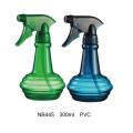 Botella plástica del rociador del disparador del PVC para el jardín (NB444)