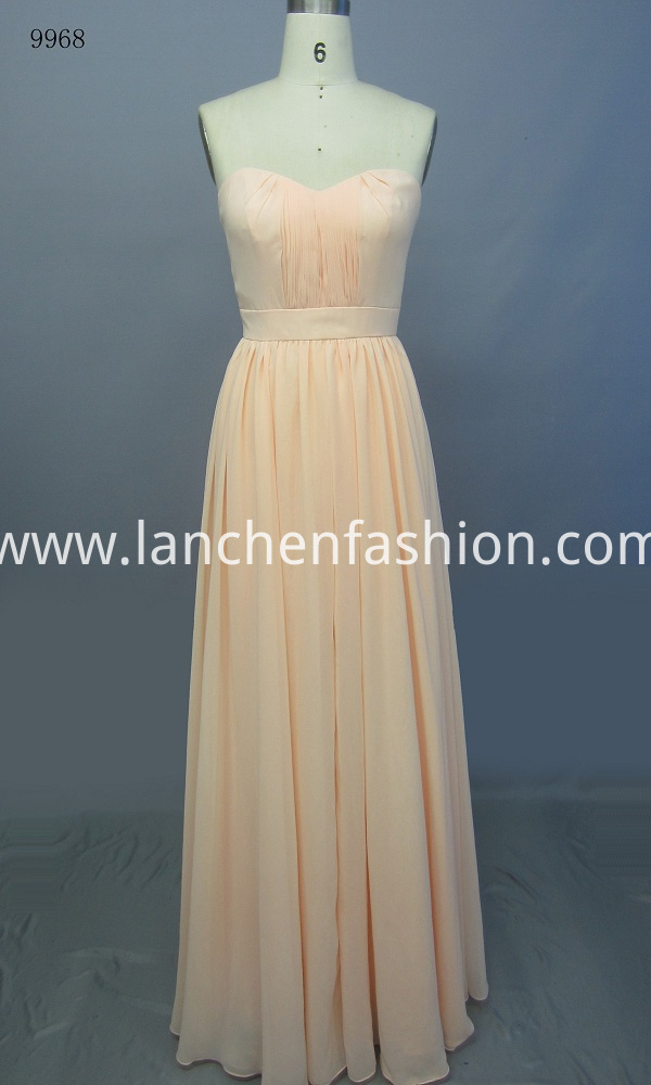 off Shoulder Evening Dress