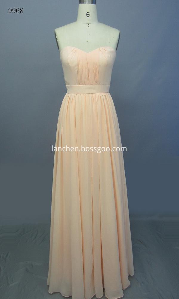 off Shoulder Evening Dress