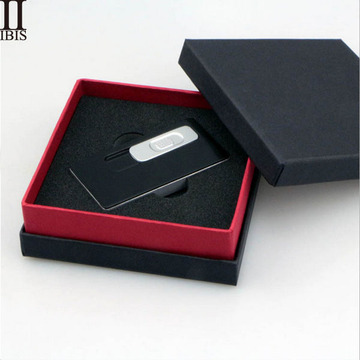 Logo Customized Black Matt Papier Geschenkbox
