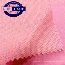 tissu en nylon polyester birdeye coolness pour l'été