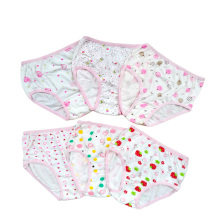 New Design Cotton Girl Younger Cute Printed Calcinhas, Girls Thongs Calcinhas, Sexi Girl Boxer Briefs