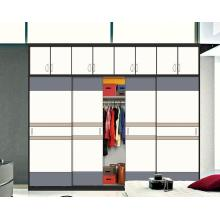 New Glossy Wooden Sliding Door Wardrobes (customized)