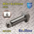 M8X14X50mm Zinc Plated High Tensile Hilti Anchor Bolt for Steelwork
