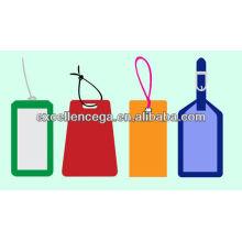 Etiqueta de equipaje de muestra gratis