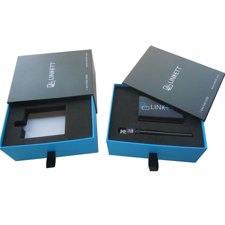 Custom Premium Drawer Sliding Box For Electronics Packaging