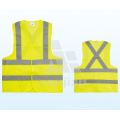 Jy-7008 Yellow Polyester Reflective Safety Vest