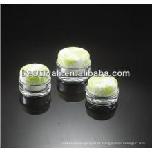 15ml 30ml 50ml 100ml Creme cosmético de luxo frasco acrílico
