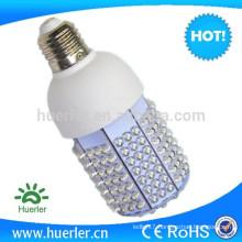 CE ROHS 201led dip SMD 100-240v 24v 12v 10-12W 10w corn bulb e27 1300lumen