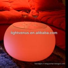 meubles de salon avec LED à vendre