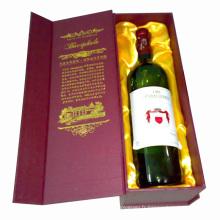 Boîte à vin luxueuse pour l'emballage et la collection (W21)