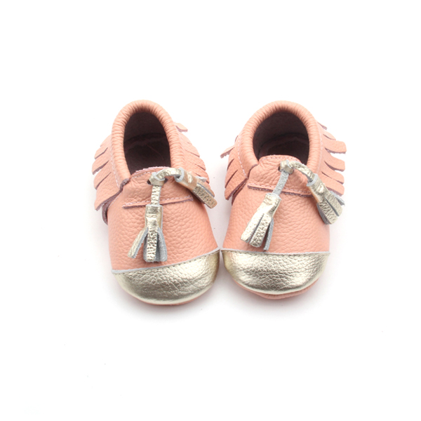 Baby Shoes with Fringe