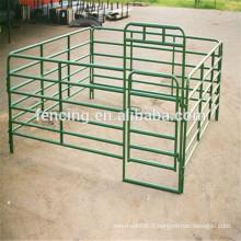 Panneau de clôture de pelouse de bétail soudé revêtu de poudre