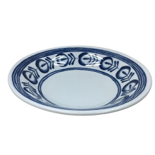 Melamine Modern Blue Tableware/Deep Bowl/Dinnerware (DC15722-08)