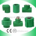 High Quality PN25 Pressure Casting PP-R Green Pipe Fittings