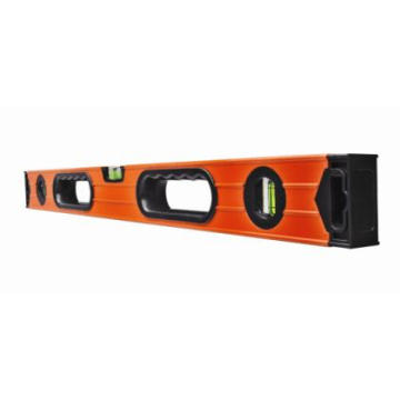 Ribbed Spirit Box Level mit flachen Endkappen (700811)