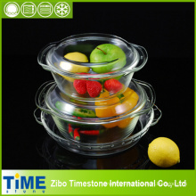 Glass Casserole and Cake Pan Set (GCB-201212)