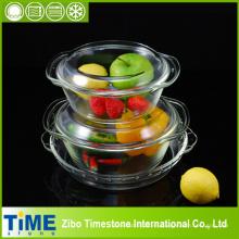 Juego de cazuela de vidrio y molde para pasteles (GCB-201212)