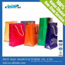 China Großhandel billig Mode Kraftpapier Recycling Tasche