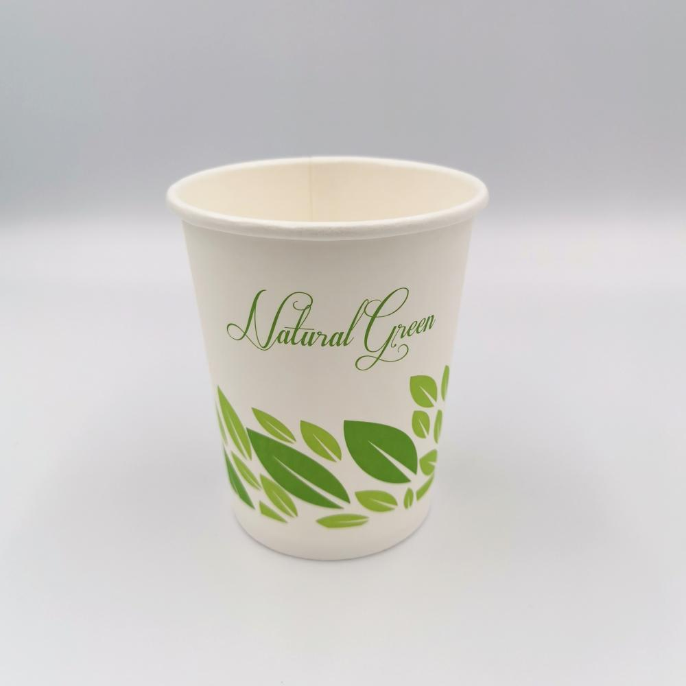 Disposable 100% Biodegradable Coffee Paper Cup