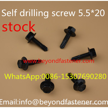 Ruspert Screw Black Dacromet Screw Self Drilling Screw