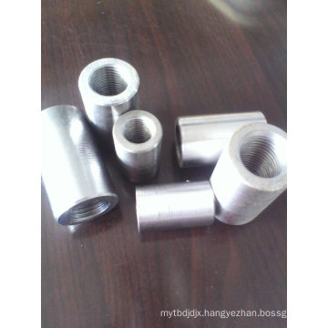 Direct thread steel bar splice