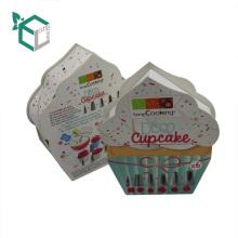 2017 Новый Дизайн Пользовательского Специальная Форма Торт Изваять Аксессуары Для Упаковки Бумажные Коробки