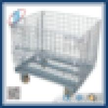 Cage de caisse de rangement en acier