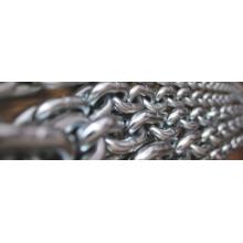 Cadena de elevación negra de acero de aleación G80