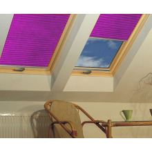 skylight folding window shades customized