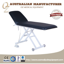 Black Electric 2 Section Professional Examination Table Treatment Couch Beauty bed