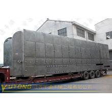 Secador de correia de aço inoxidável para produtos farmacêuticos