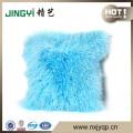Wholesale Tibetan Mongolian Sheepskin Cushion Many Colors