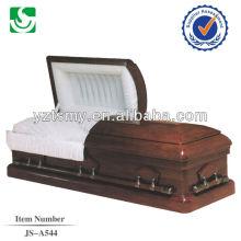 Ларец производство прямой продажи пользовательских дуб кремации шкатулка