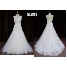 Vestido de novia de Alibaba en línea de las compras en línea