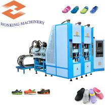Máquina de moldagem por injeção de sapatos EVA