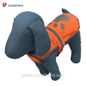 Wholesale Reflective Safety Pet Dog Vest With Adjustable Hook & Loop Fasteners