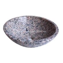 Évier de salle de bain en granit de haute qualité