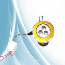 Китайский фарфор 2014, золото, встраиваемый светильник 3w квадратный круглый