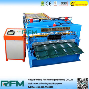 Glazed Roof Tile Steel Roll Forming Machine