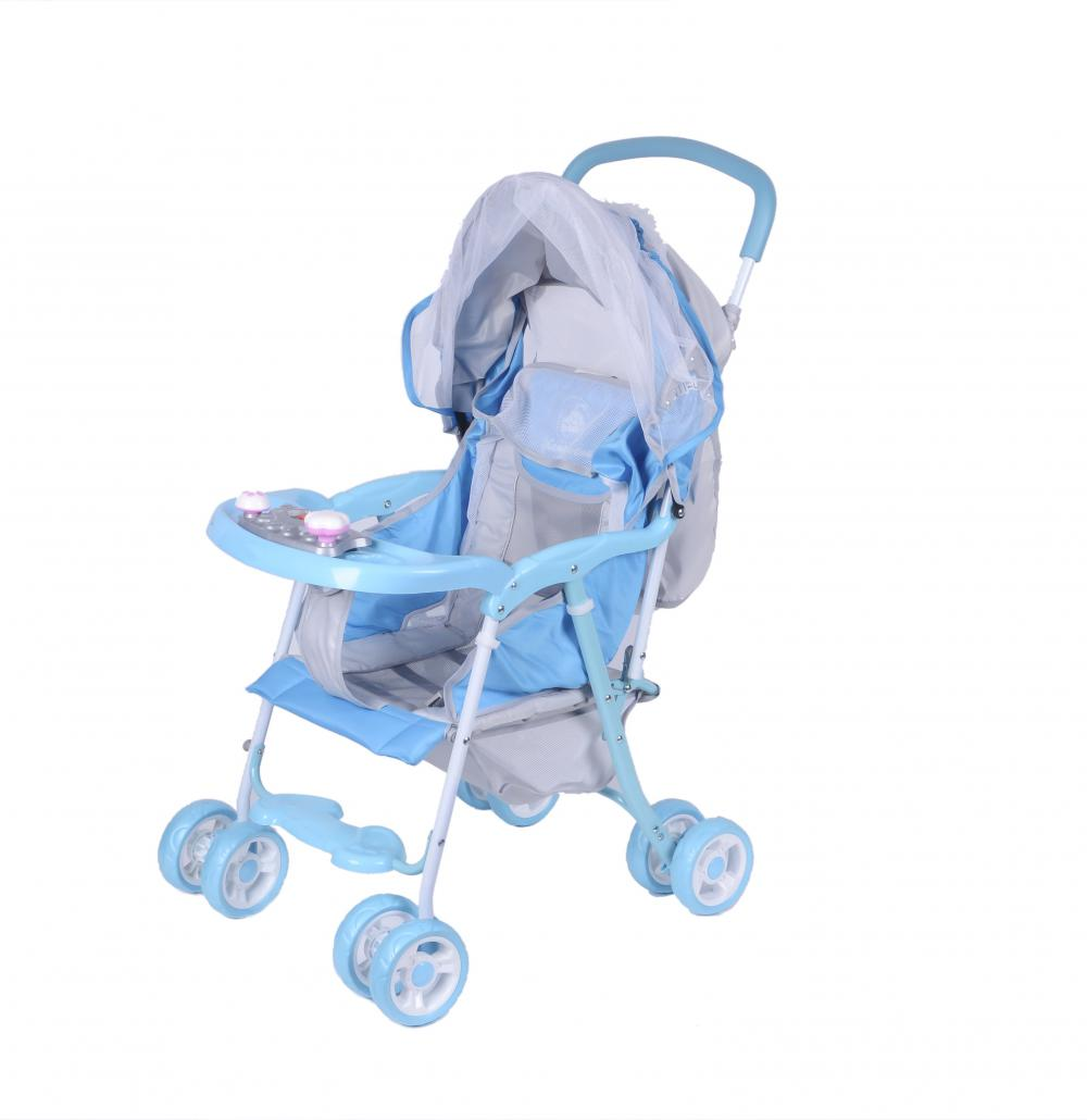 Economic Lightweight Classic Baby Stroller with Mosquito Net
