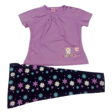Лето дети девочка костюм одежда детей