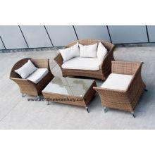 Sofa en osier (6037)