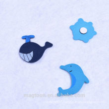 Super quality professional custom wooden fridge magnets cute animal Fridge Magnets