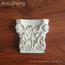 Wood Carved Pillar Traditional Wood Capitals corbels