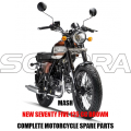 MASH NEW SEVENTY CINCO 125 CC BROWN BODY KIT PIEZAS DEL MOTOR PARTES ORIGINALES DE REPUESTO