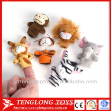baby IQ toys plush animal finger puppet